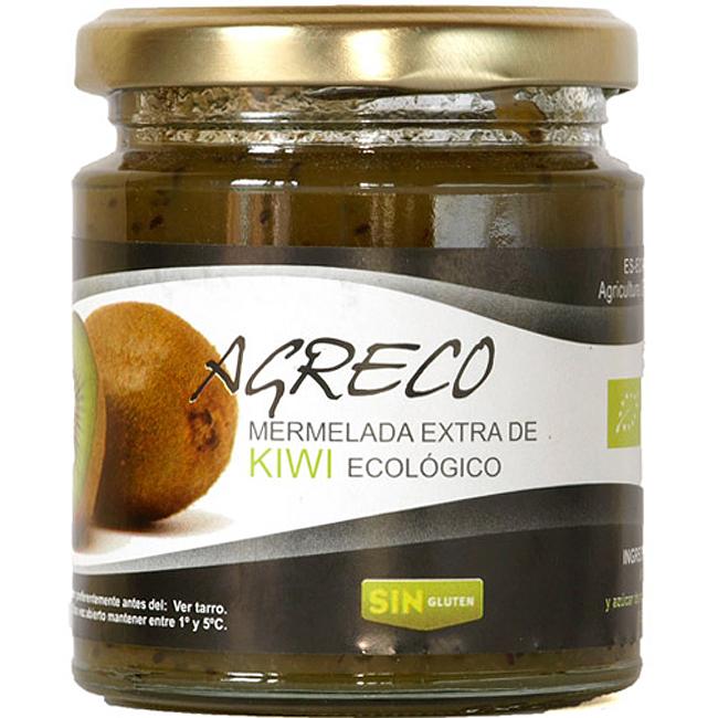 Mermelada extra de kiwi AGRECO tarro 260 g
