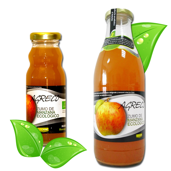 Zumo de manzana de sidra